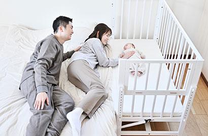 赤ちゃんとママ・パパの